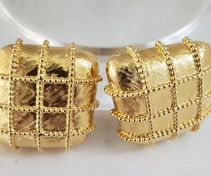 Vintage Rare St. John Large Earrings